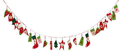 weihnachts motive filz adventskalender heitmann deco adventskalender kette zum bef llen und. Black Bedroom Furniture Sets. Home Design Ideas