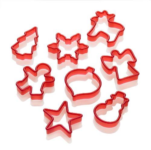 lurch 10520 ausstechformen weihnachten 8 teilig rot atirb. Black Bedroom Furniture Sets. Home Design Ideas