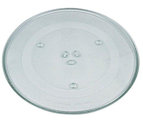 Glas Teller Drehteller Für Mikrowellen Herd Universal Passend Ø 24,5cm
