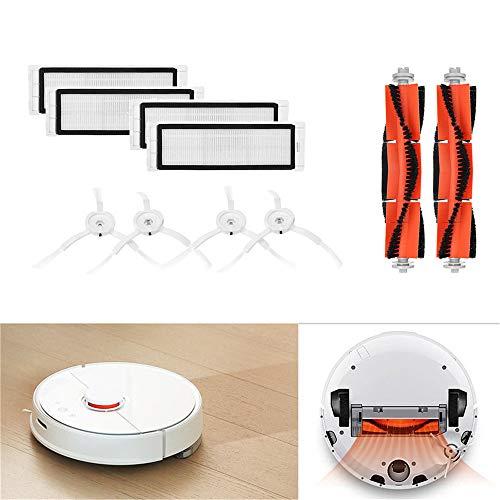 Für XIAOMI Mi Robot Vacuum Cleaner Hauptbürste Fliter Seitenbürsten Zubehör